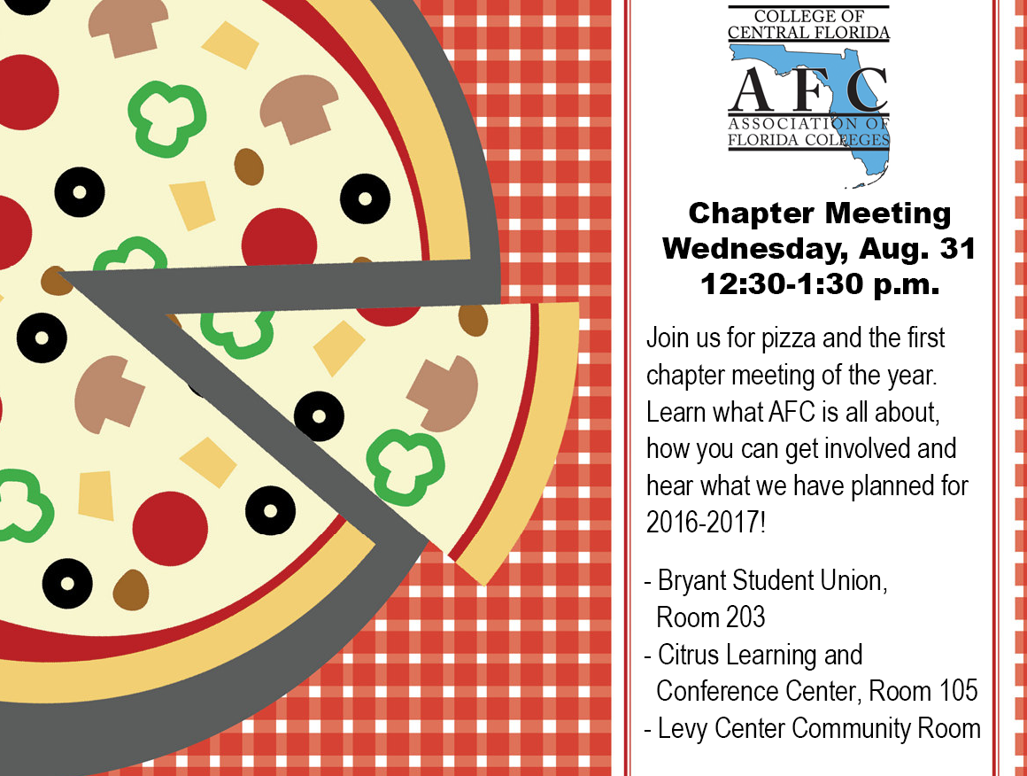 Aug. Chapter Meeting invite
