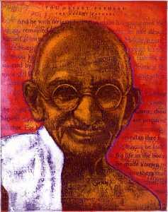 picture of ghandi